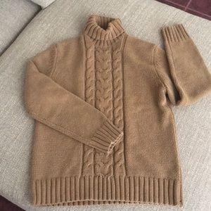 Women's Chunky Knit Turtle Neck Sweater